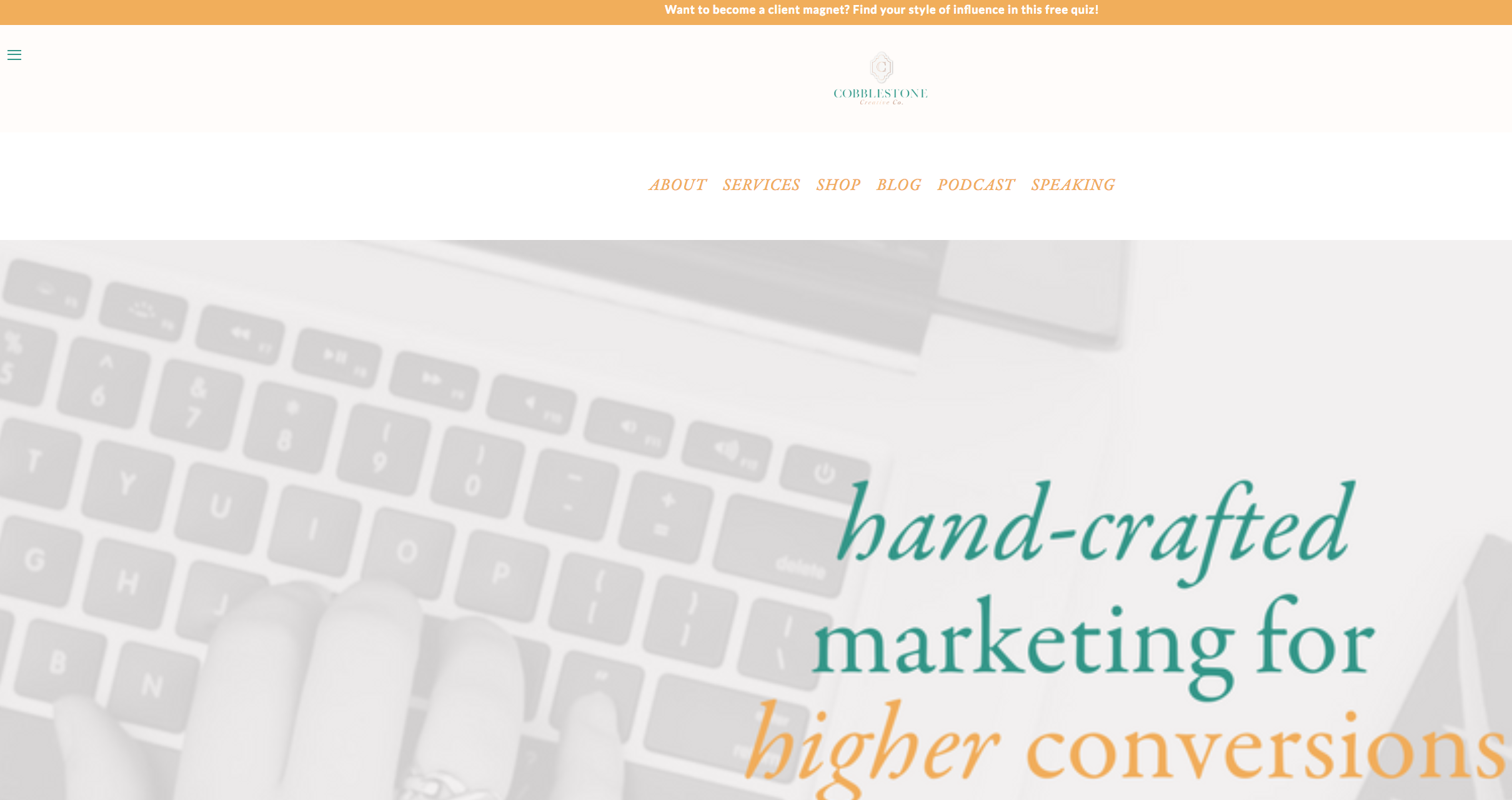 - Cobblestone Creative Co. launched in Sep. 2017 and needed to increase brand awareness, build an engaged audience, and attract clients.Through an organic digital marketing strategy, we increased website traffic by over 150% and increased mailing list contacts by 122%.In January 2018 we crafted an Instagram growth strategy that grew the Cobblestone Creative Co. audience by 148% and landed a $10,000 client.