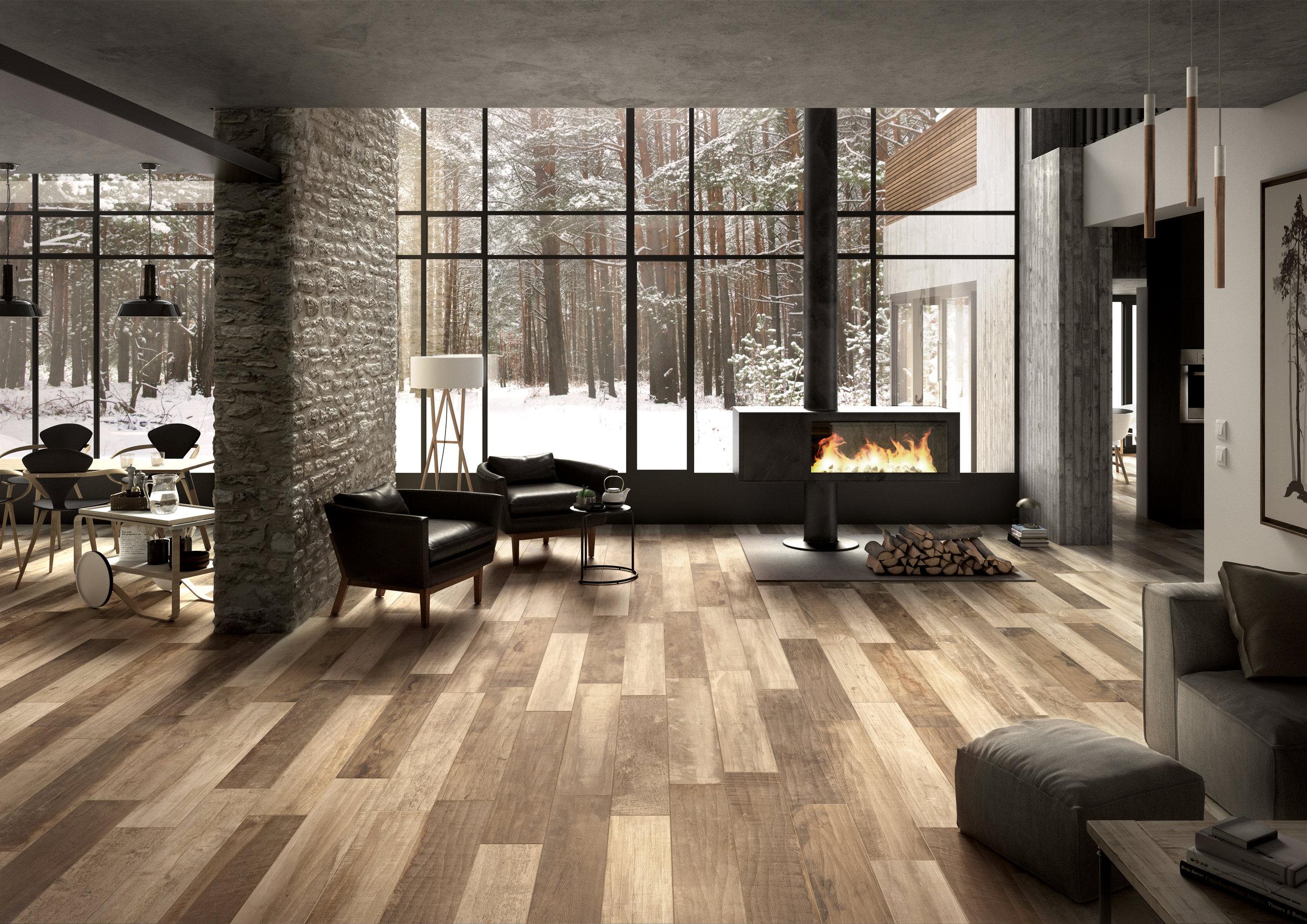 Lexington Series    Wood Look