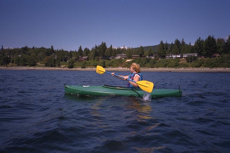 Keowee Kayak paddling Myrtle Point
