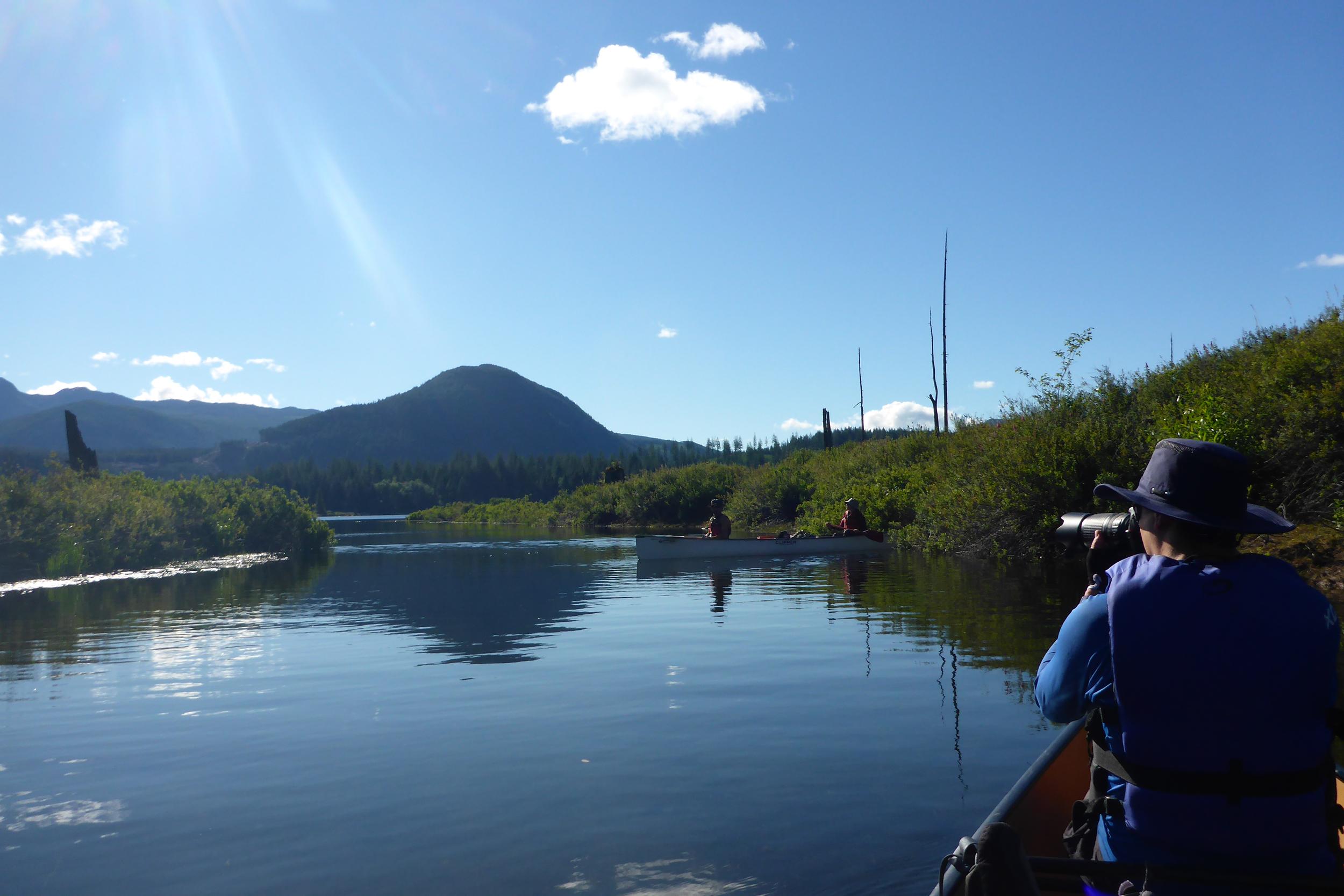 The Powell Forest Canoe Route - Nanton Lake