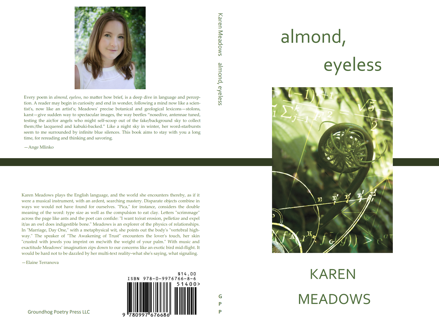 Almond, Eyeless cover