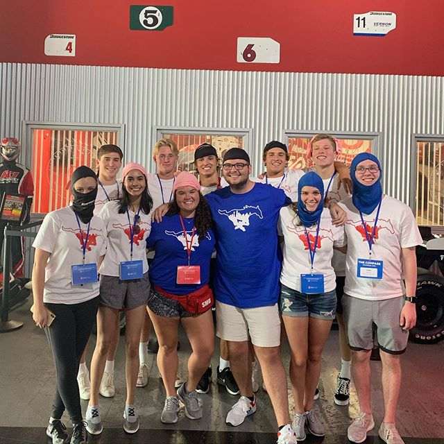 Our fabulous stampede guides took our new freshman residents to K1 Speed. It looks like they are having a blast!
