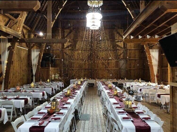 Amenities — Rochester Cobblestone Wedding Barn Venue