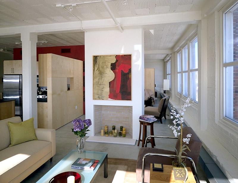 Representative residential loft