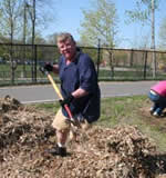 HCRRA's John Tripp, a long-time Arbor Day advocate and one of the event's key organizers.
