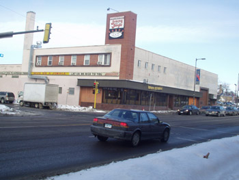 This building at 13th Ave. and Lake houses seven African-owned businesses.