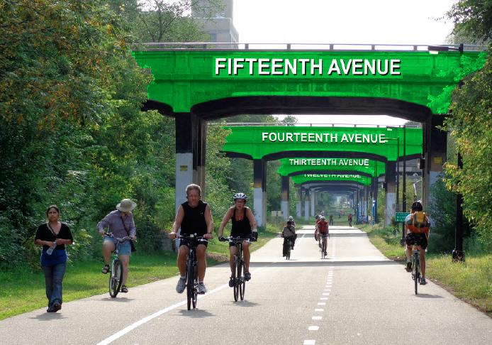 Bridge Concept Grouping by Neighborhood