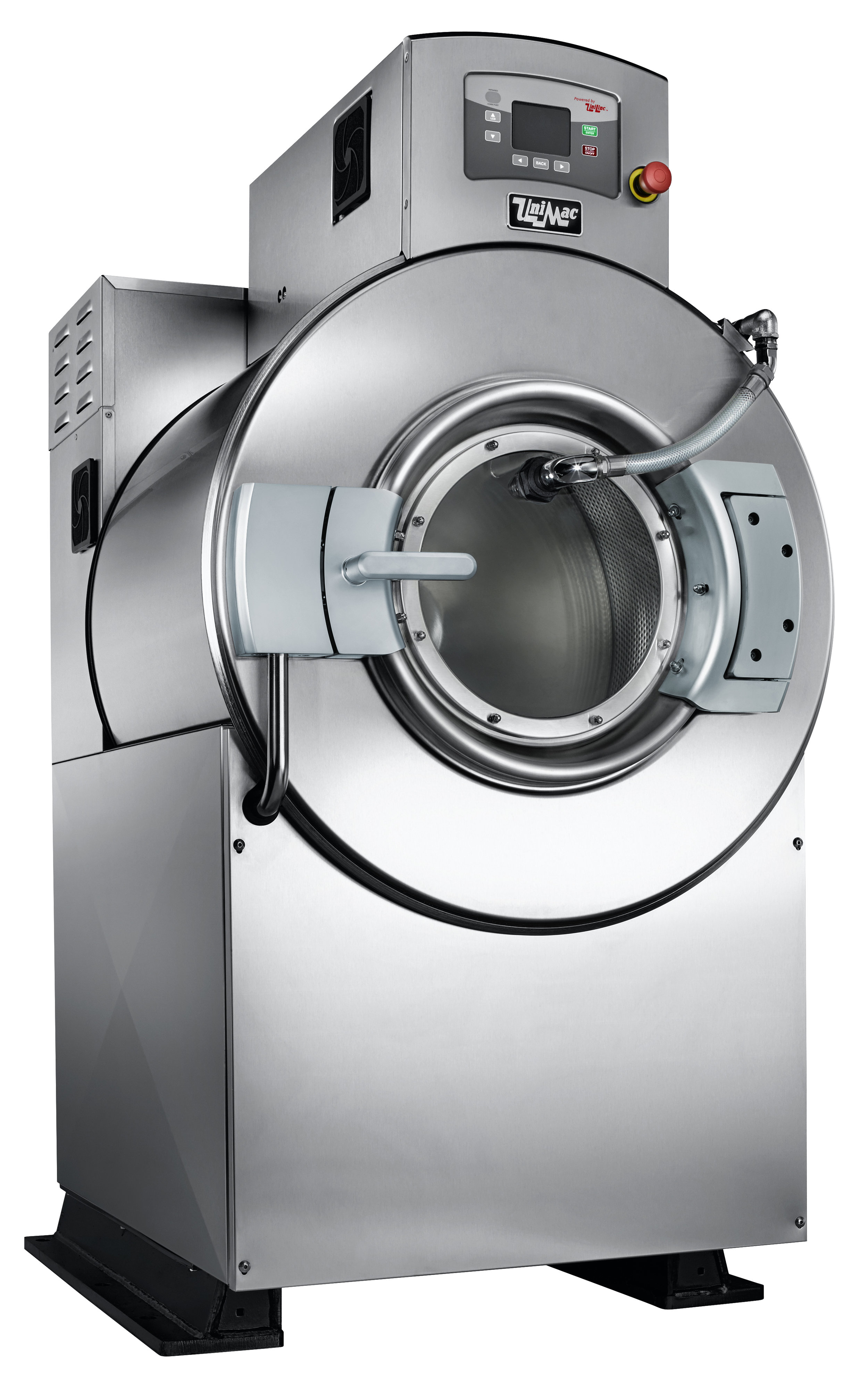 UniMac commercial washer  Robust industrial washer  Washer-extractor for bunker suits  Commercial washer for workwear  Robust commercial washer