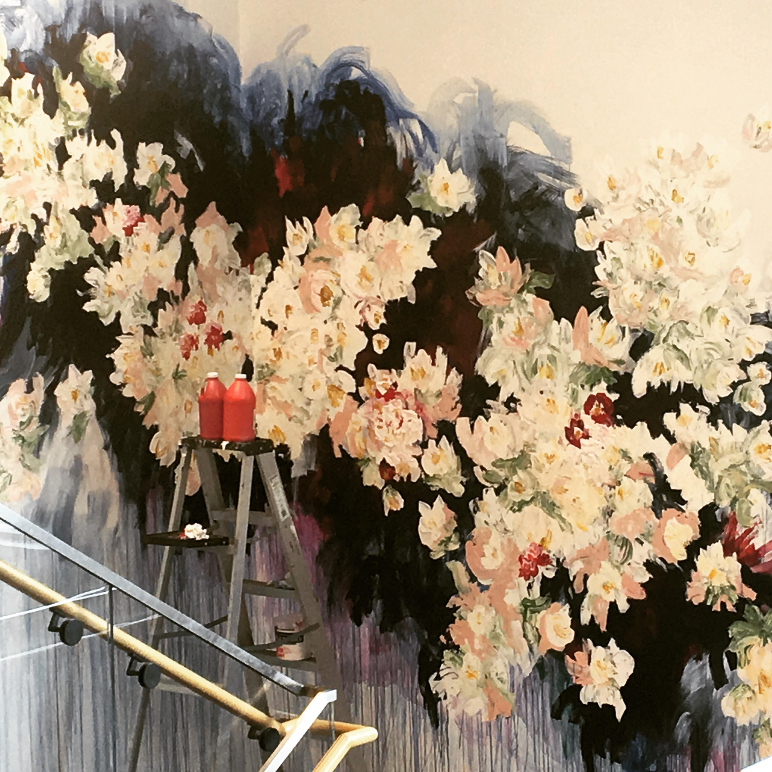 Mural at Capital One Cafe, 2017