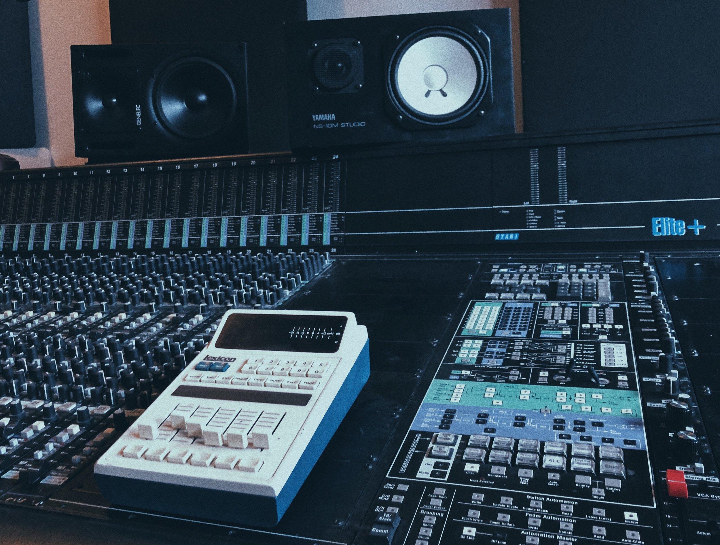 Studio A Console 1.JPG