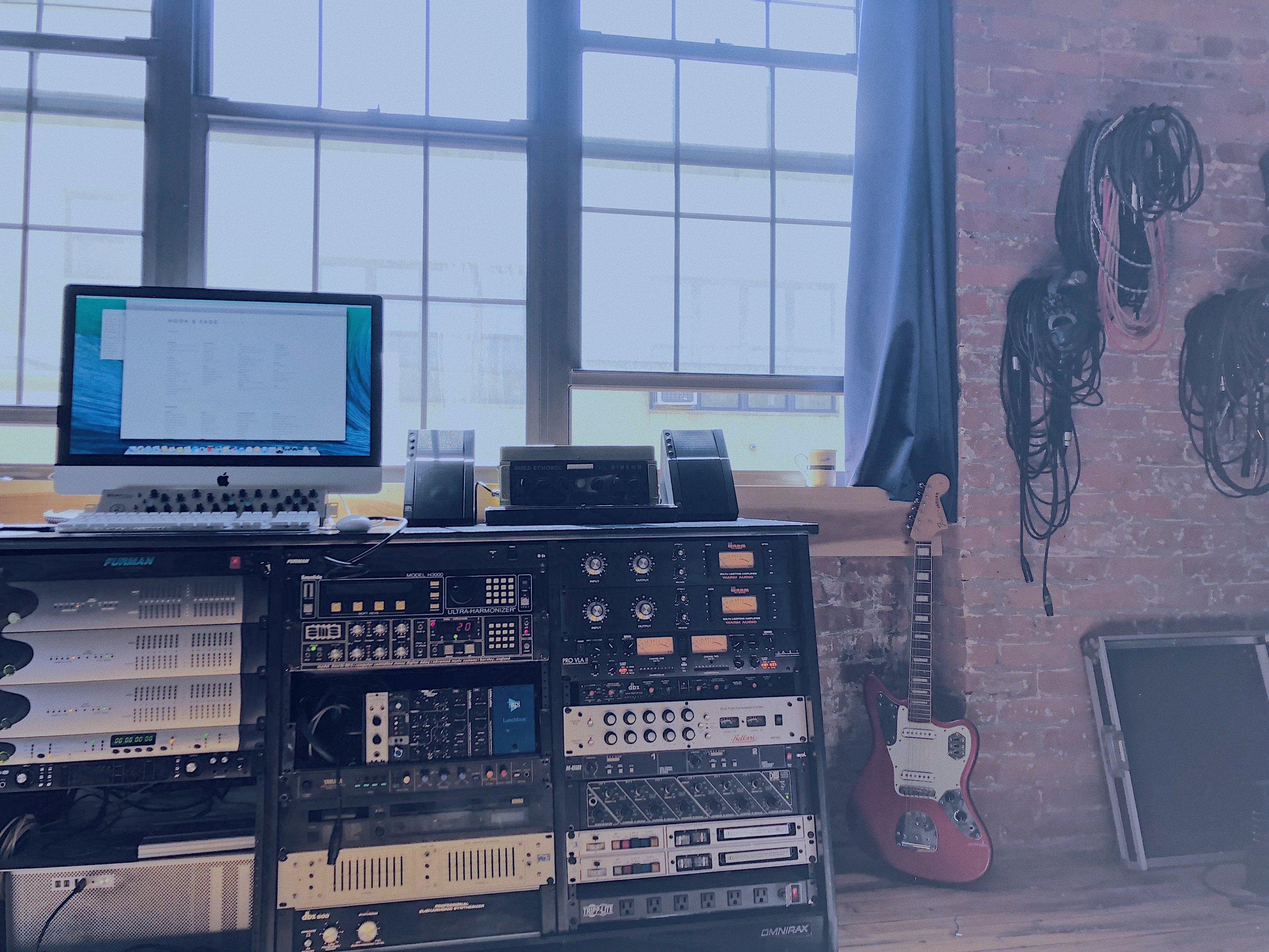 Studio A Rack and Jag 1.JPG