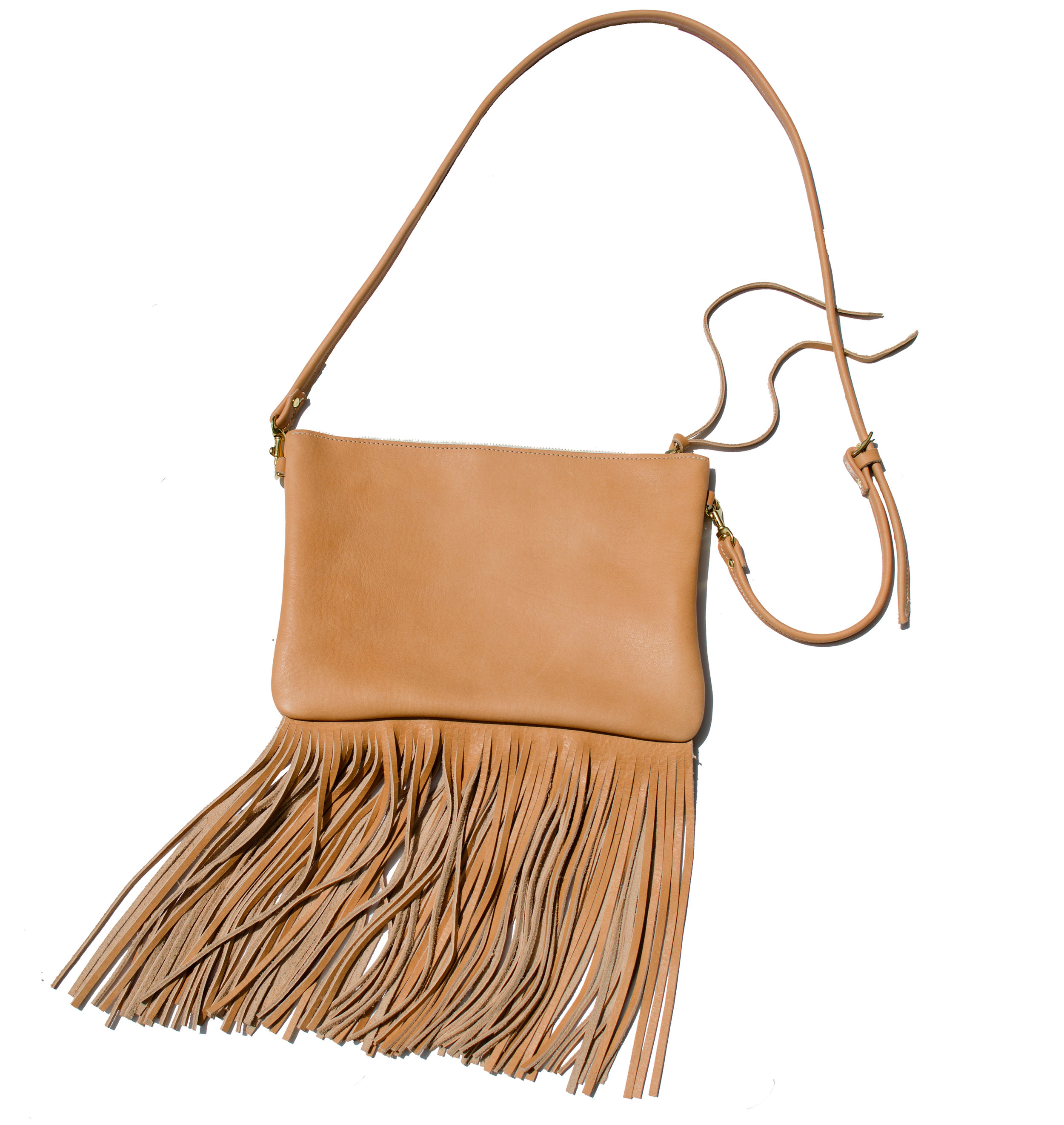 BARA Fringe Crossbody Bag