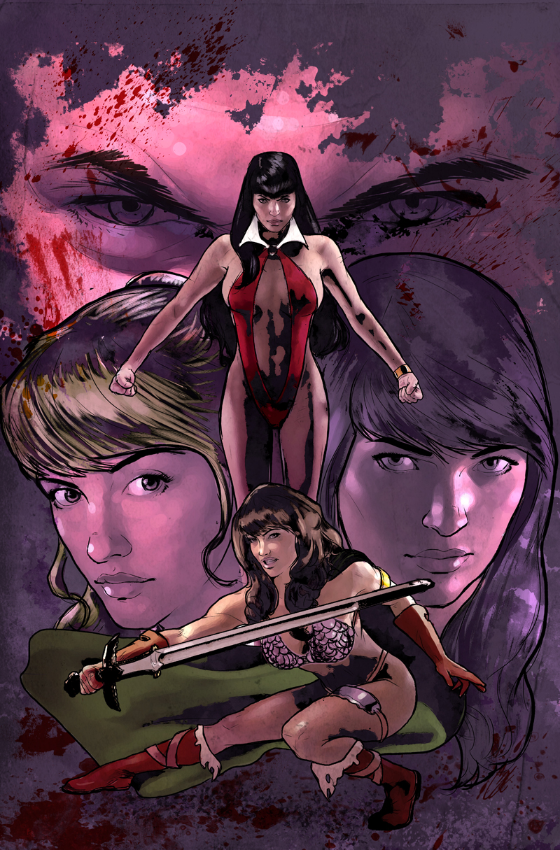 Red Sonja and Vampirella meet Betty and Veronica #1
