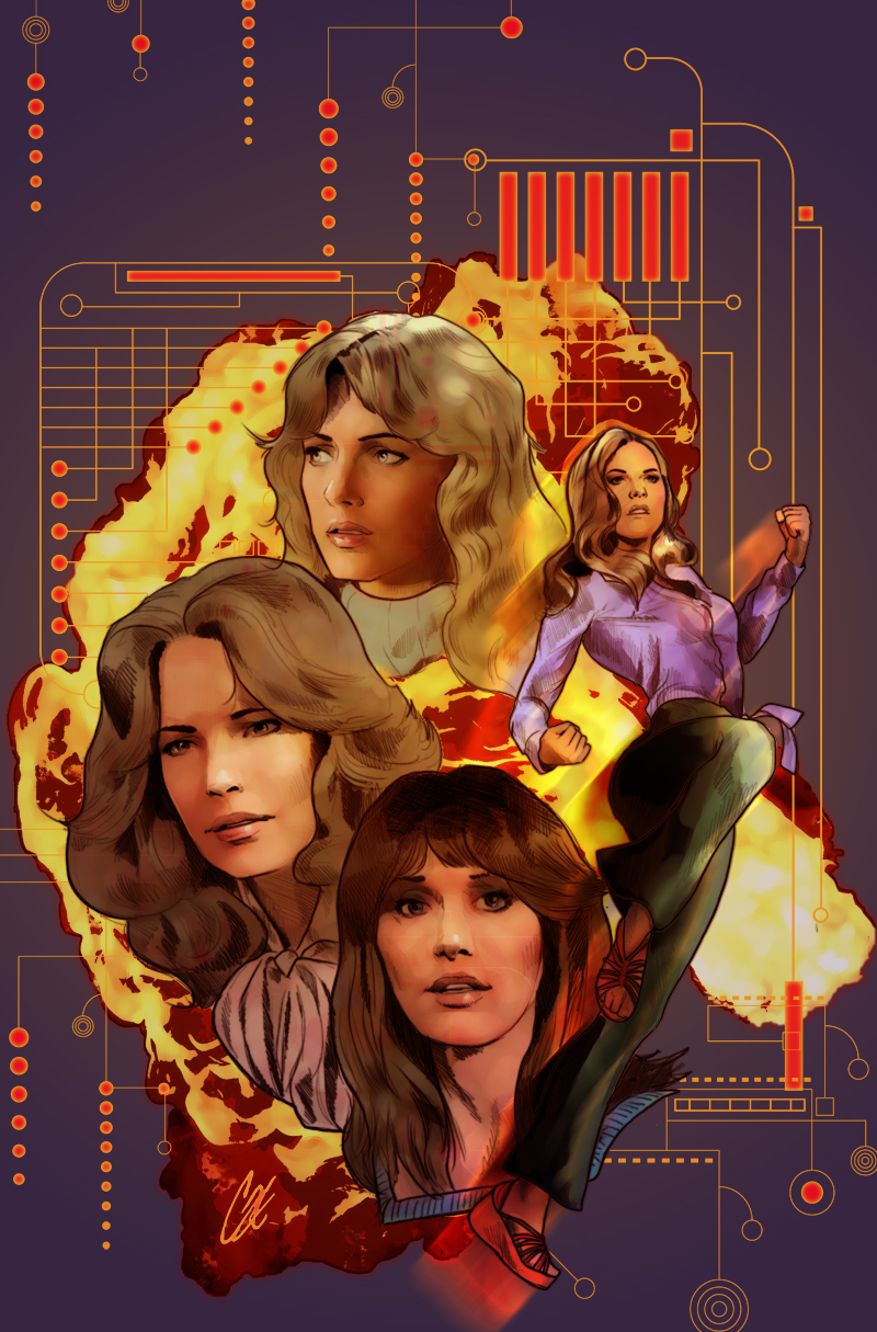 Charlie's Angels meets the Bionic Woman #1