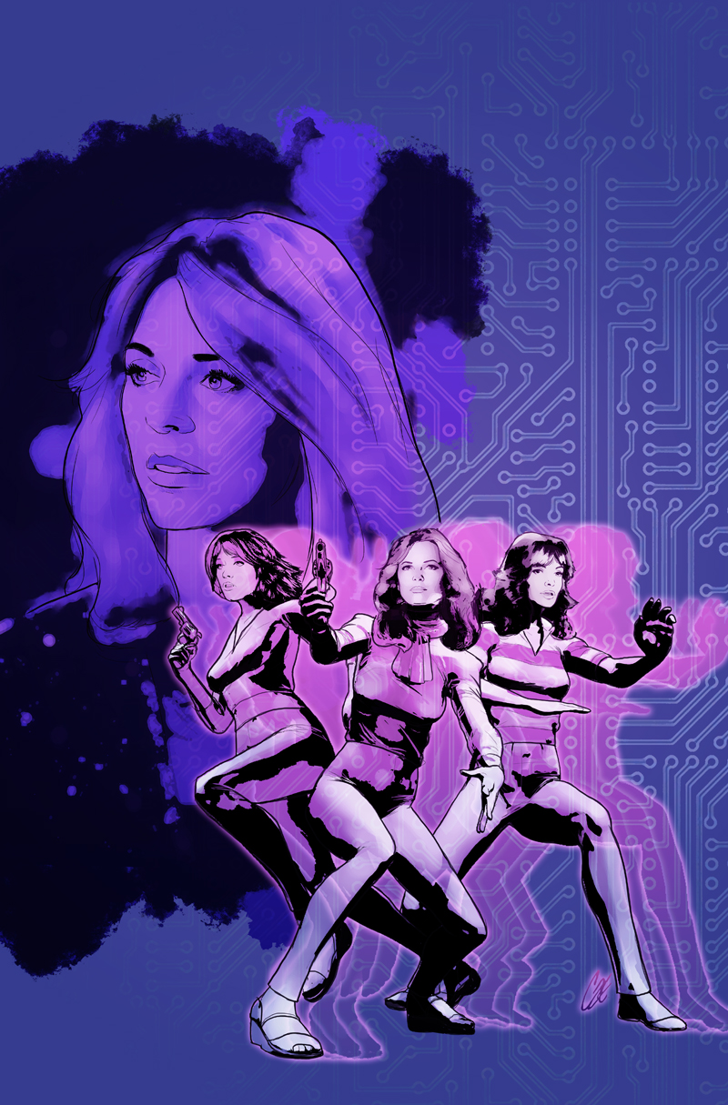 Charlie's Angels meets the Bionic Woman #2