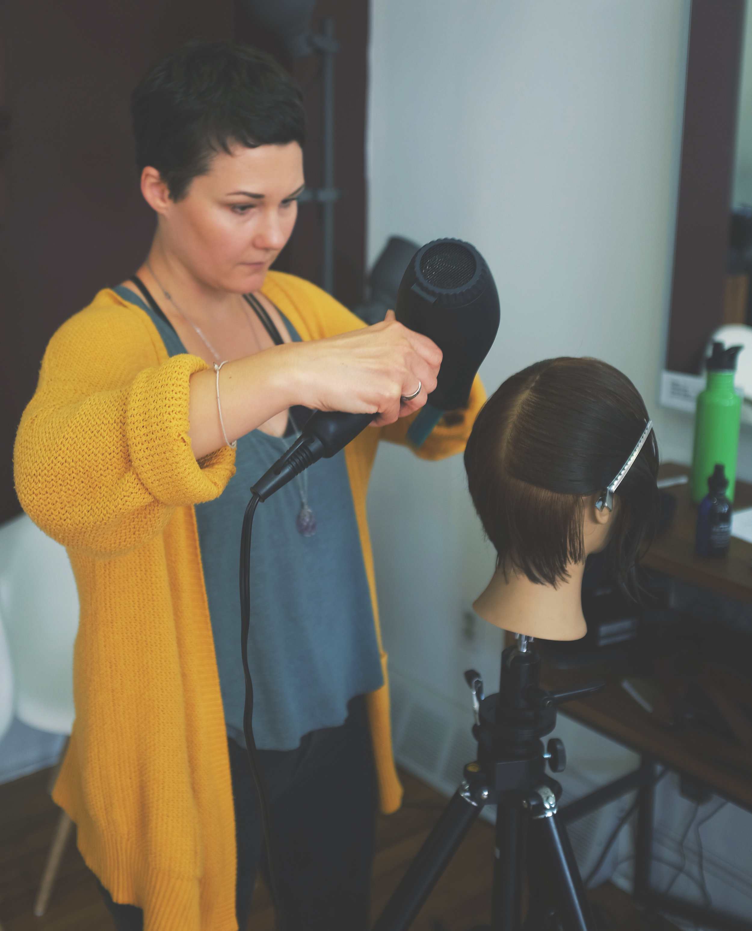 FOUNDATIONS - Foundations is designed for hairstylists who take their craft seriously, and wish to raise the standards of haircutting. This course is designed for hairstylists who are looking for a thoroughly structured classroom setting. It is not designed for hairstylists who are looking for the next