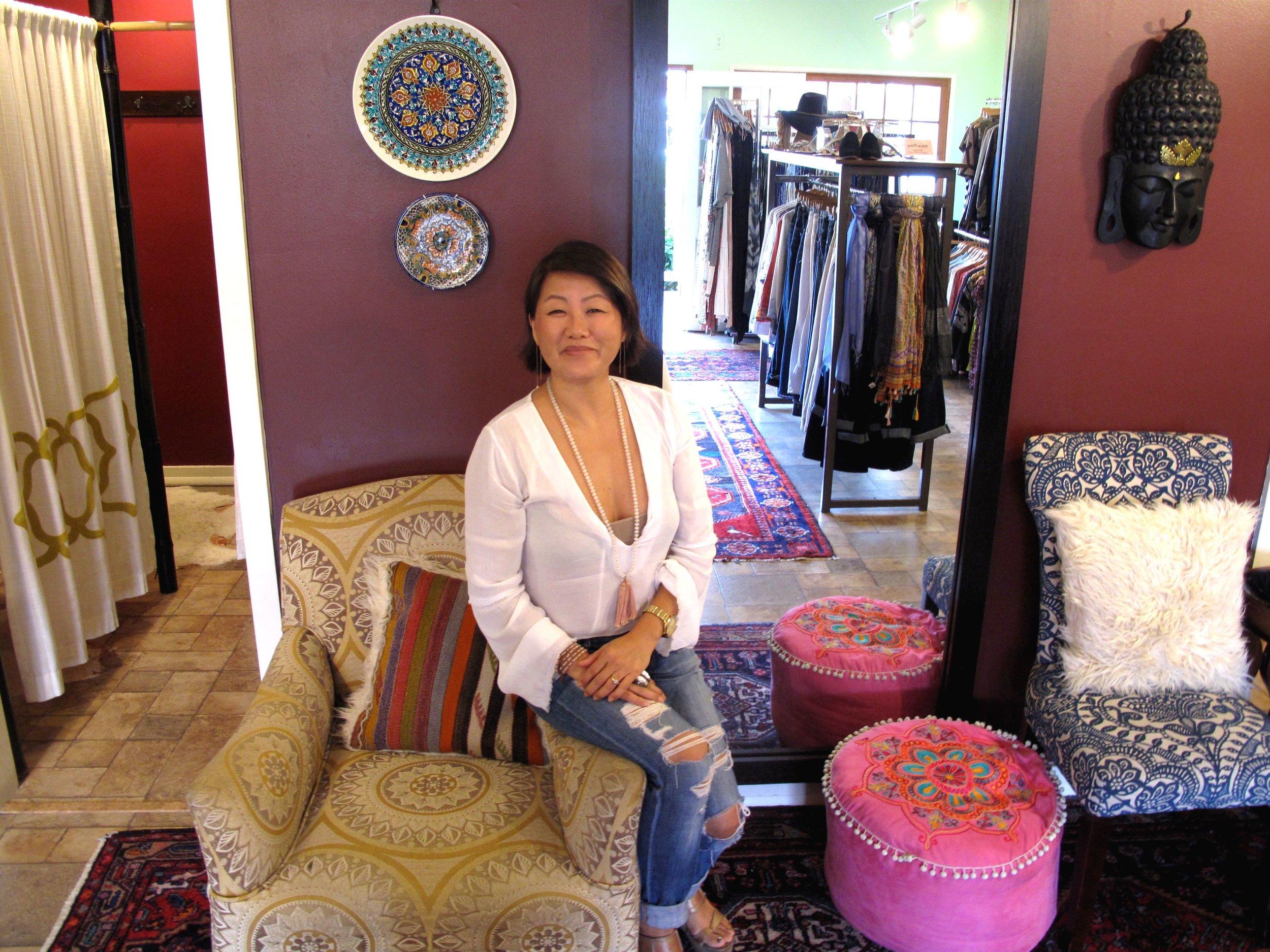 Kathy Keller Owner Hula Moon Boutique Waimea