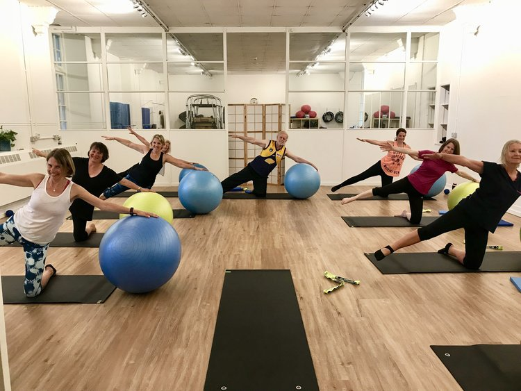 Pilates - We run beginner, intermediate and mixed ability classes so there is plenty of scope to find the right class for your ability. Using a knowledge of the ABCs, Alignment, breathing and Connecting, individuals are encouraged to work to their own ability level in class whilst being supported by the teacher to ensure they are able to make the most of the small class tuition.