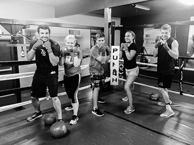 End your week strong! Punch with us at 10:30 today!