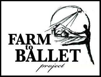Farm to Ballet logo by J.Heloise