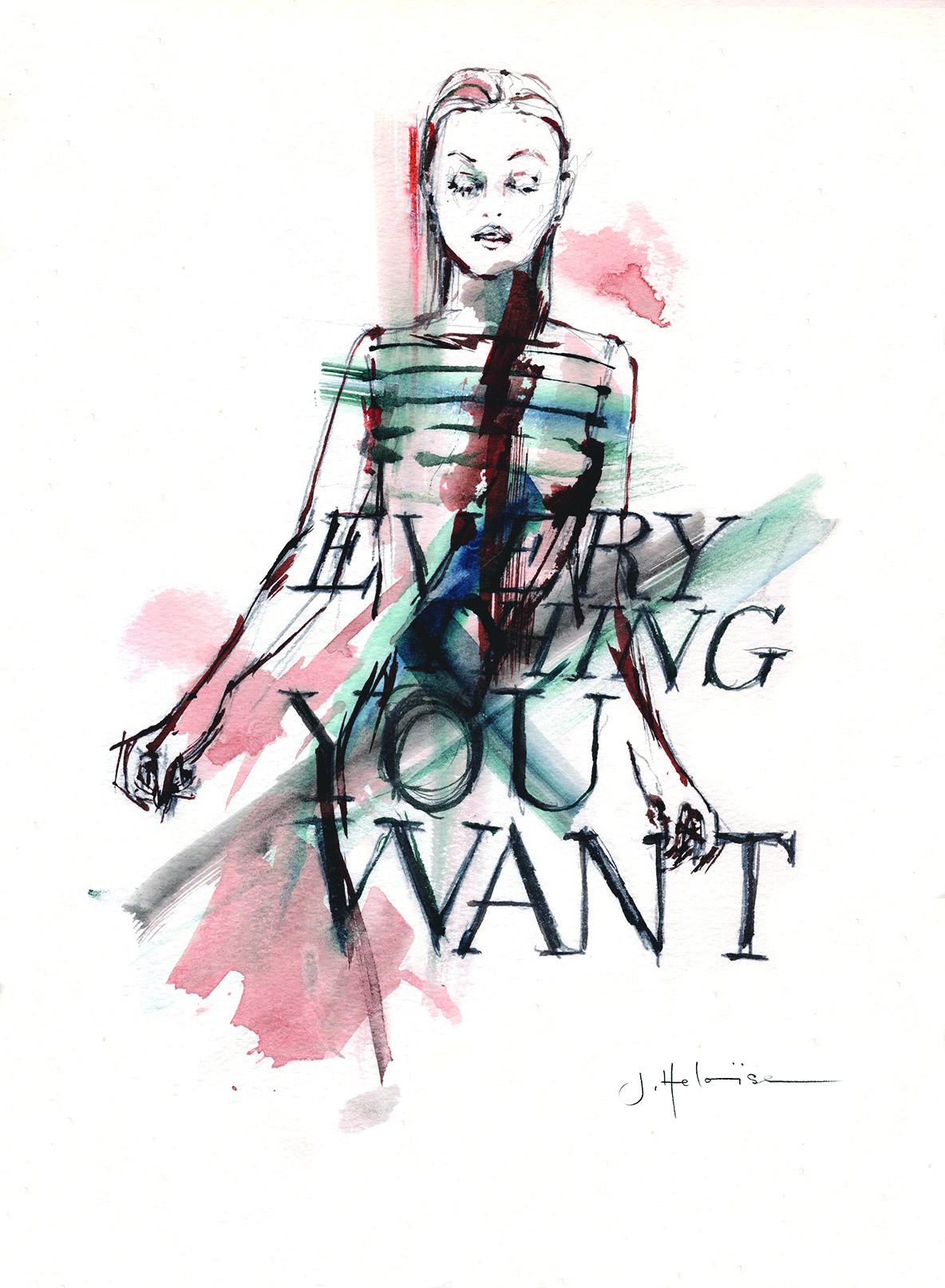 Everything You Want, (from Fashion Faces series)