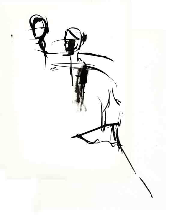 Ballet in Black (Leap)