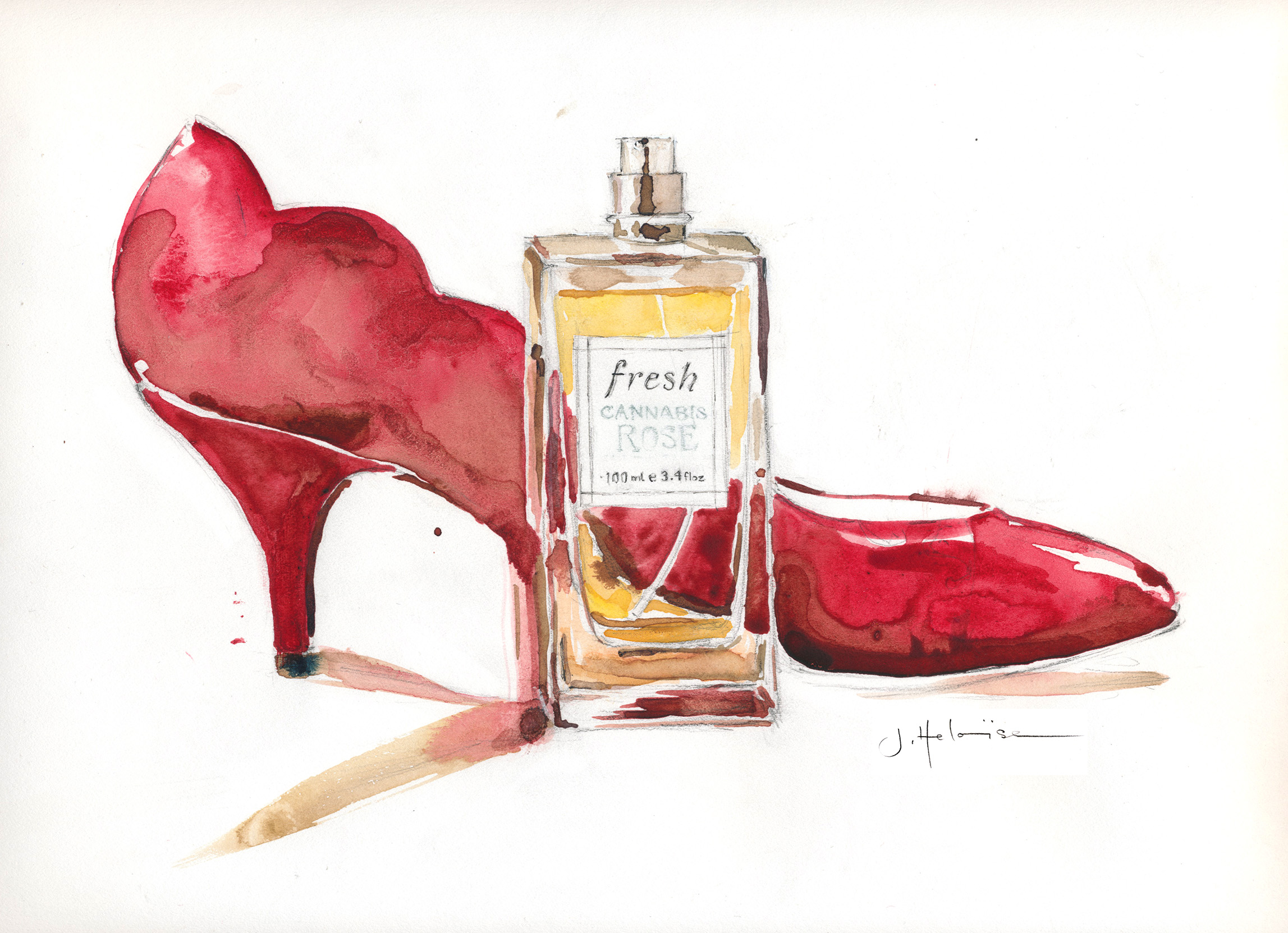 Perfume High Heel, 2012