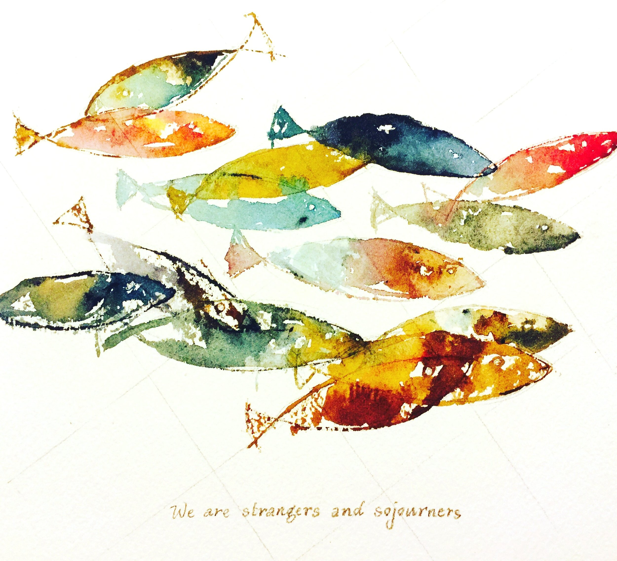 Fish - Strangers and Sojourners, 2016