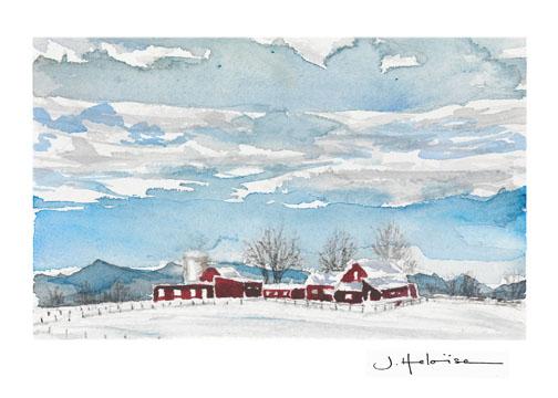 Vermont Winter, 2010