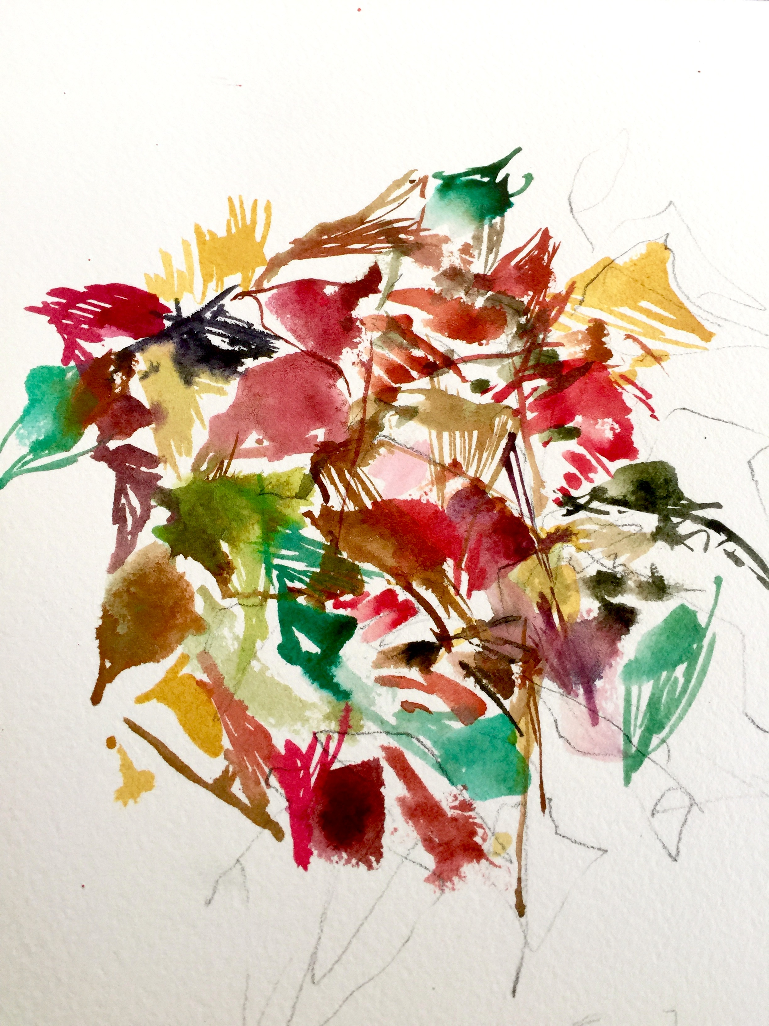 Poinsettia Ginko by JHeloise