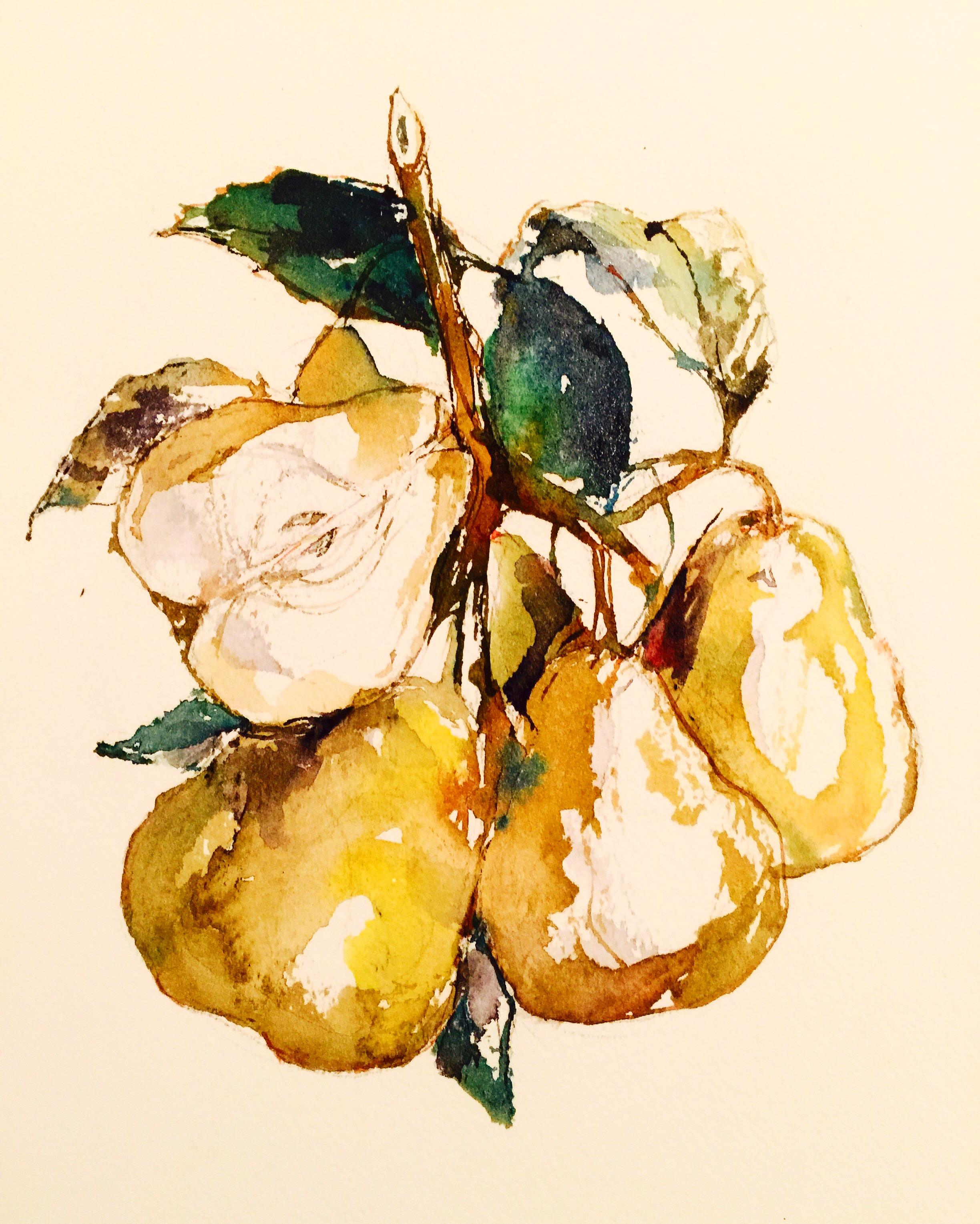 Pears by JHeloise