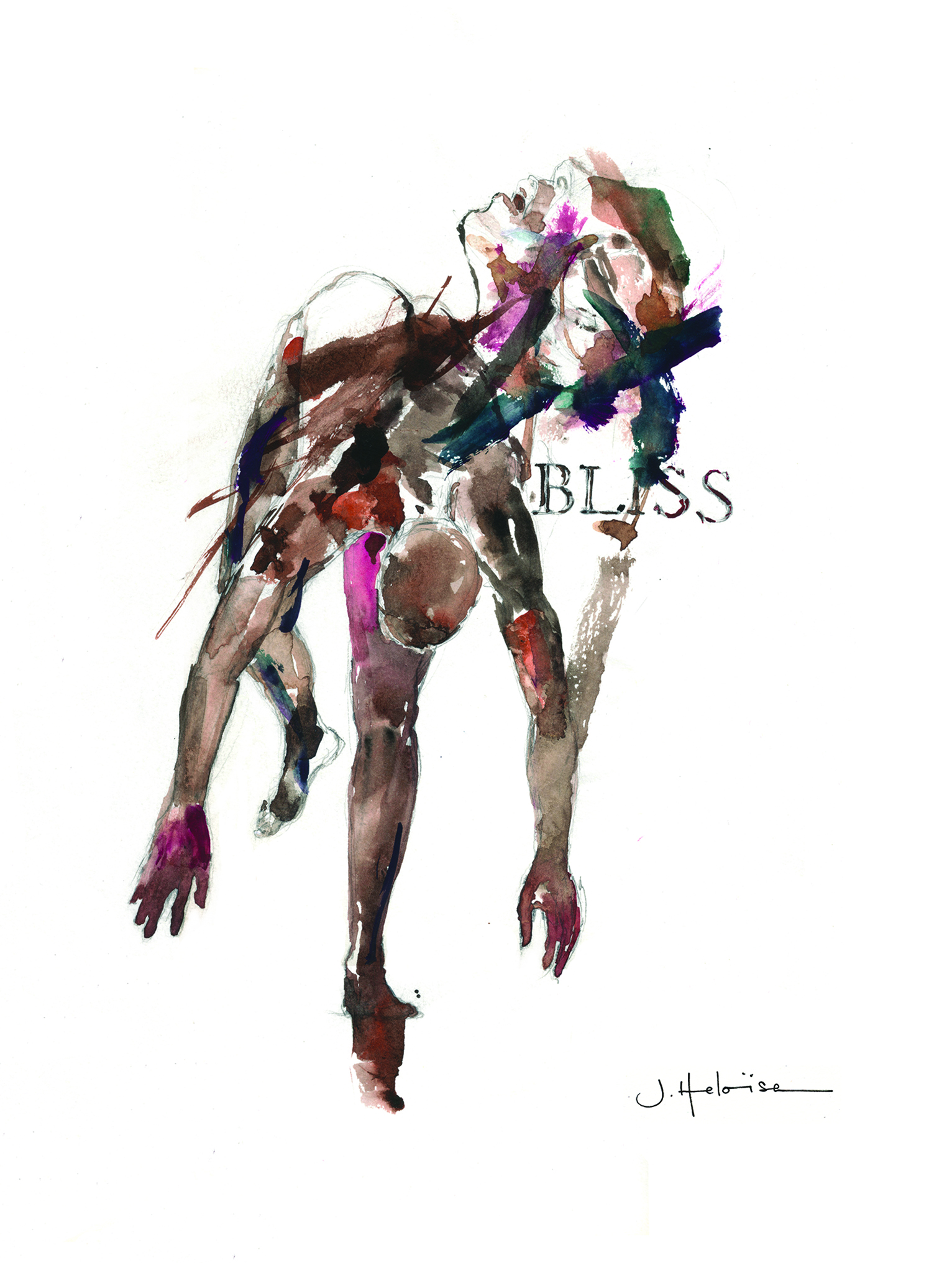 Bliss (from Fashion Faces series), 2014