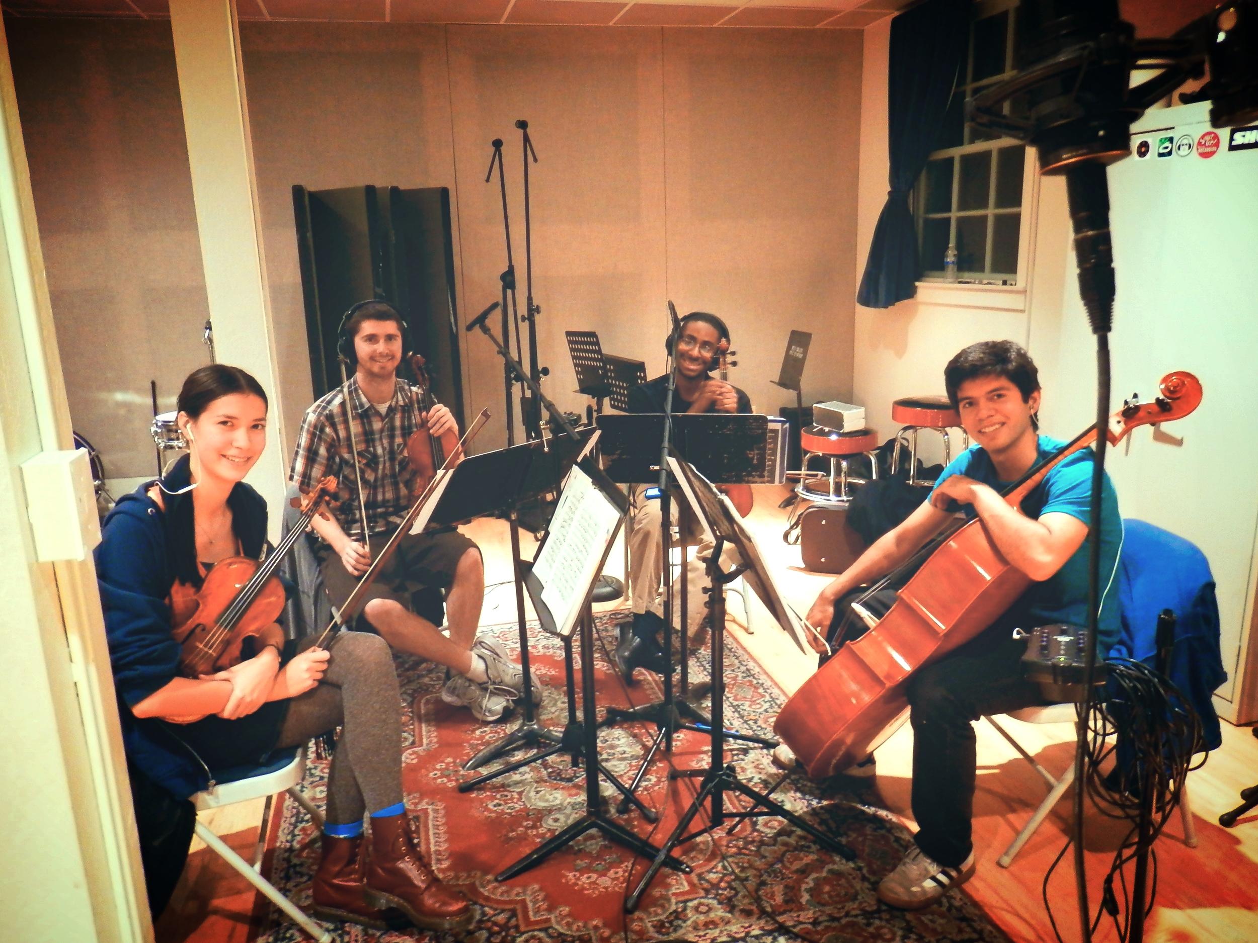 Beam String Quartet Tracking