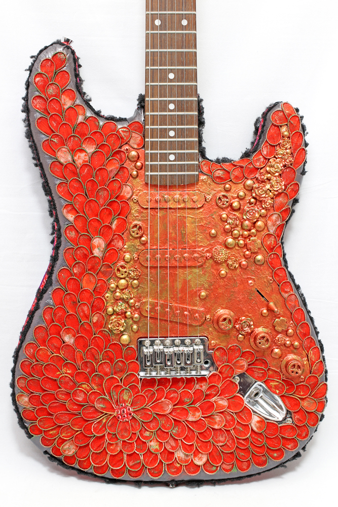 Decoration on the Guitar