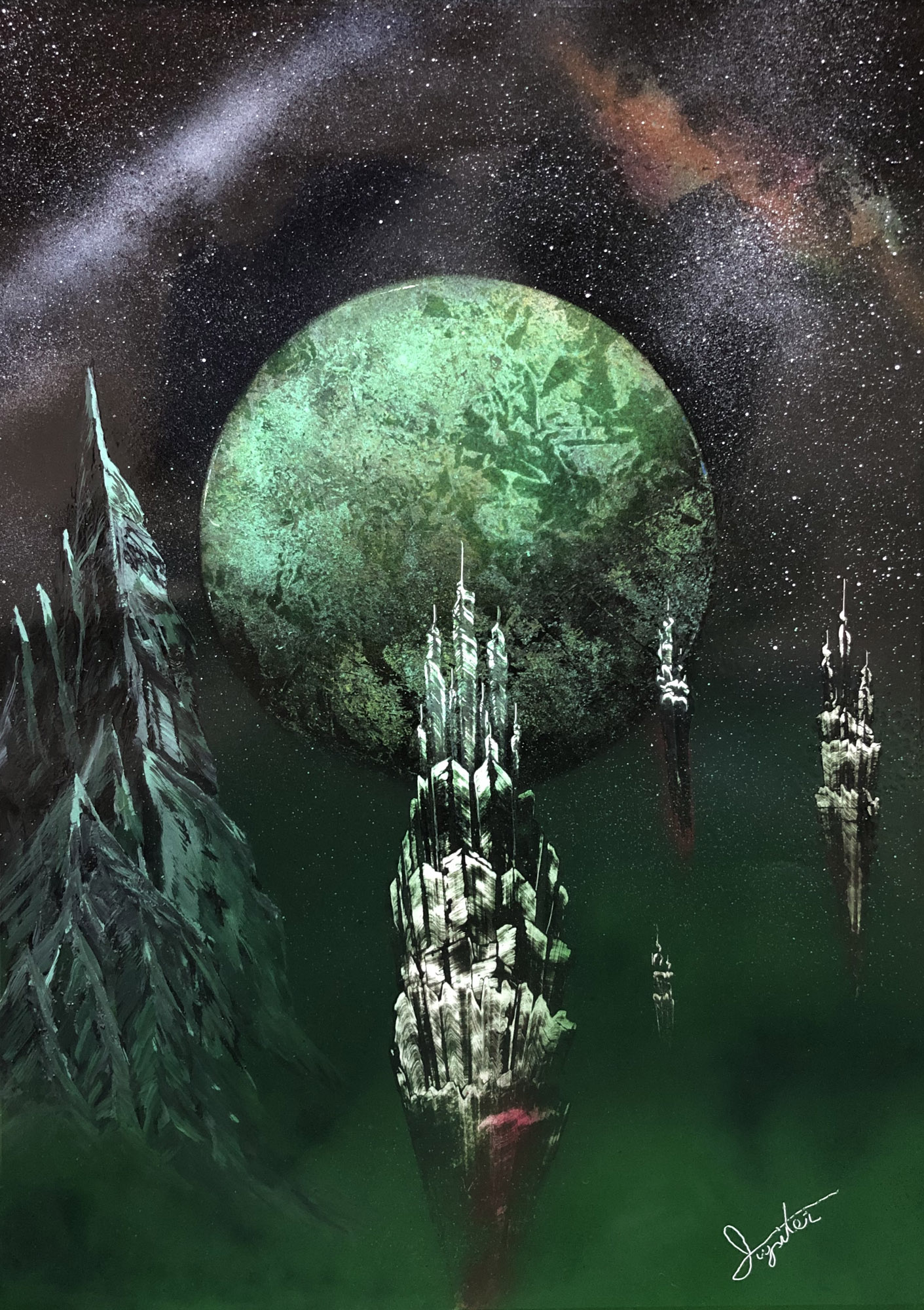green planet and the aeropolice