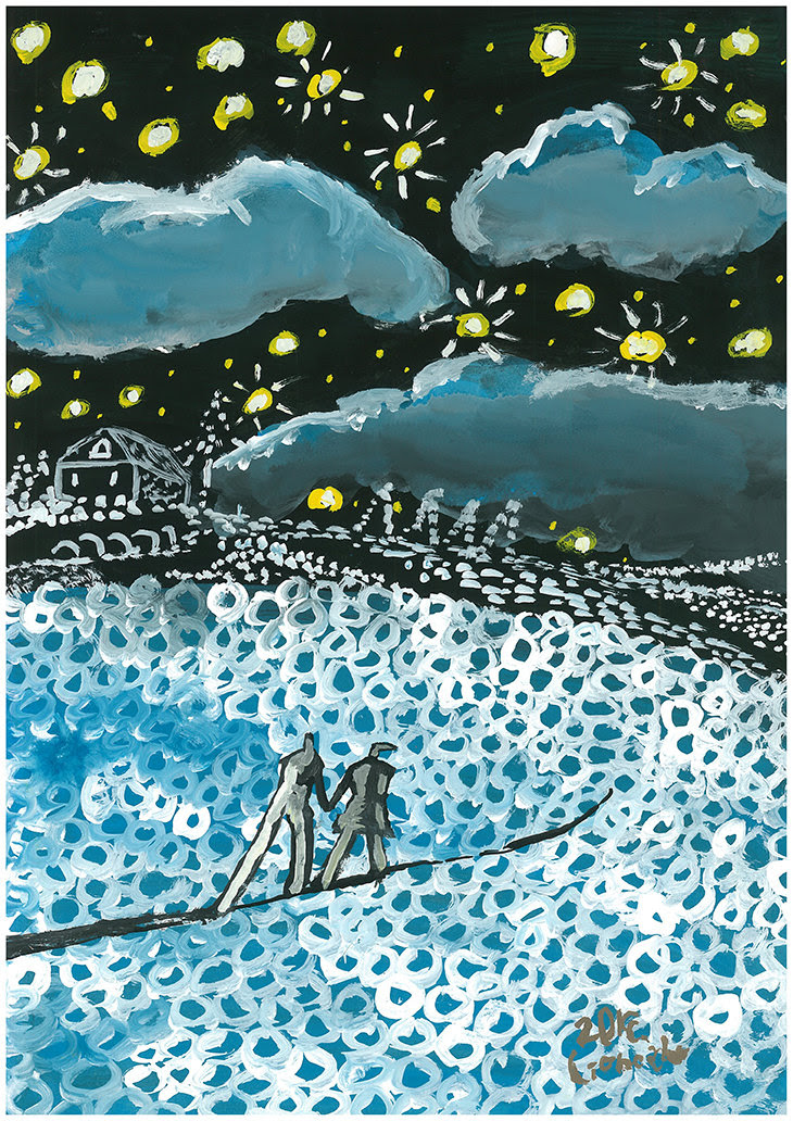 02/08 スマイリー展ご参加アーティスト★Lioncider★デンマークのウェブマガジンに作品が掲載されました!