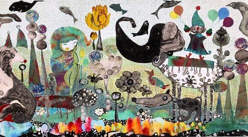 04/08/2019 - 【JCATサプリ】アートを通して社会に貢献し、観る人に癒やしや元気を与えることが目標です。★MISAKO MATSUMOTO