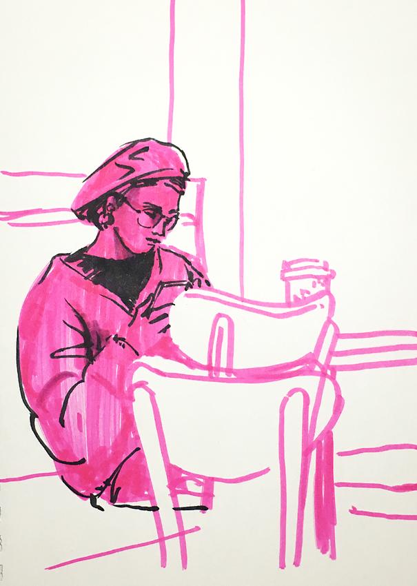 Pink symptoms