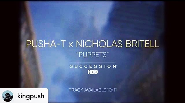They couldn't have picked anyone better for this... Honored to have recorded @kingpush over @nicholasbritell 's music for this incredibly dope show ! . . Posted @withrepost • @kingpush The soundtrack to my life...
