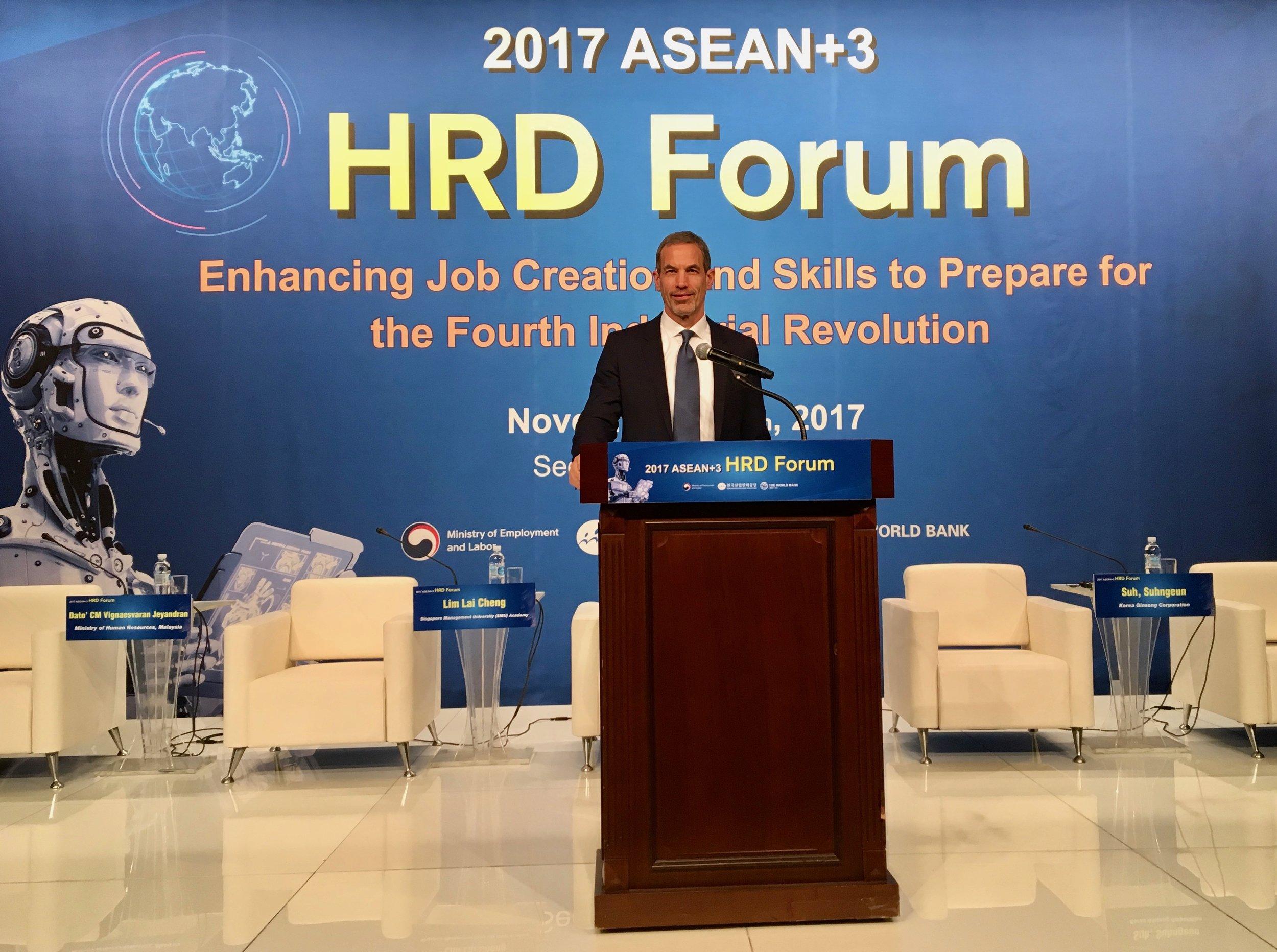 HRD Forum Seoul, South Korea *Photo credit HRD Korea