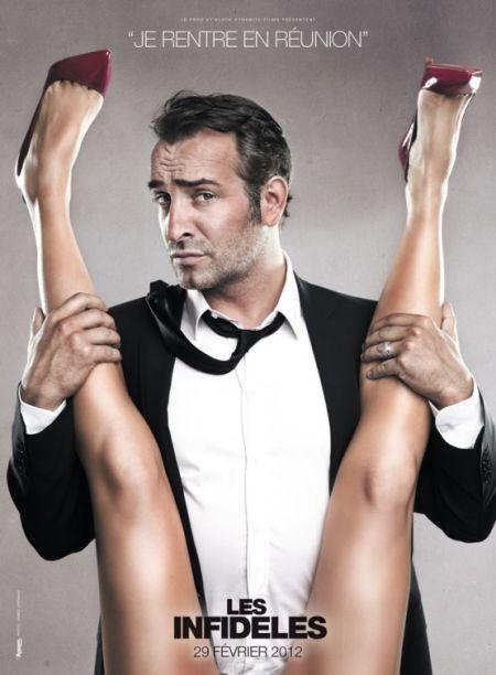 Fig. 1 - Les Infidèles movie poster (2012)