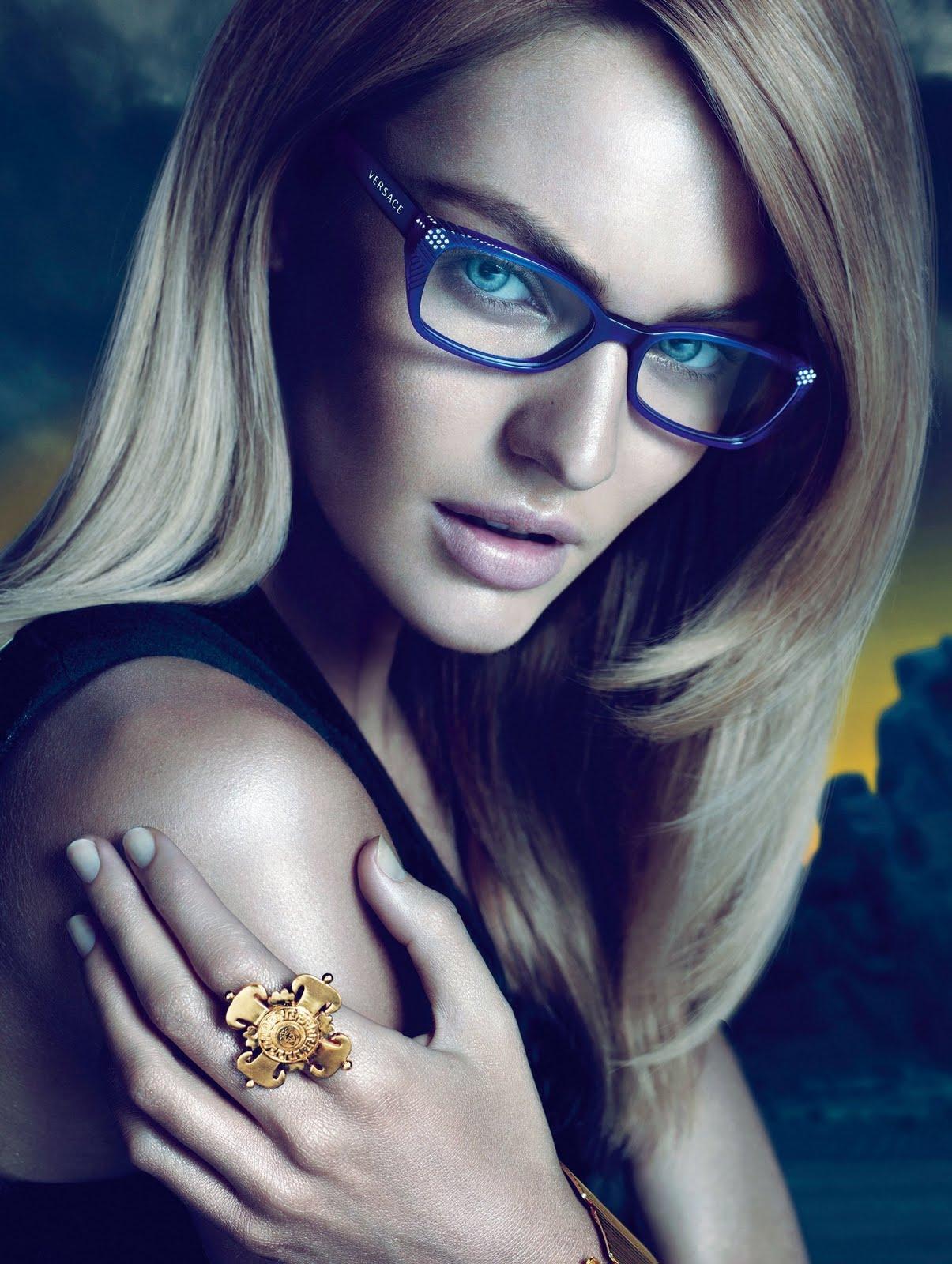 Fig. 10 - Candice Swanepoel for Versace Eyewear