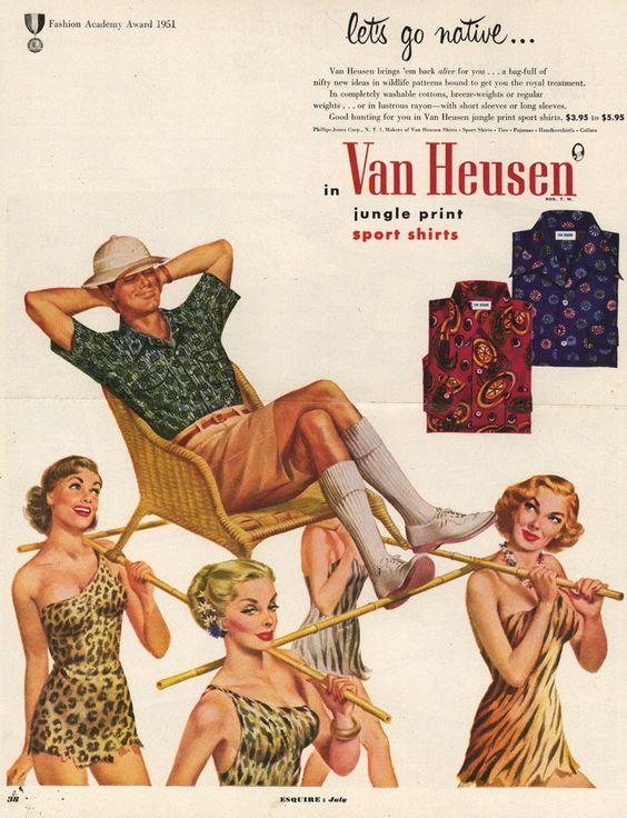 Fig. 12 - Van Heusen clothing ad (1951)