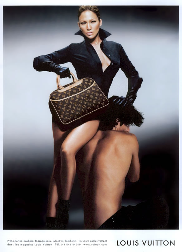 Fig. 1 - Jennifer Lopez, Louis Vuitton Ad (2003)