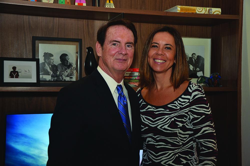 Dan King, VP regional Latinoamérica y Caribe y Carla Barbosa, Directora de Marketing para Latinoamérica .JPG