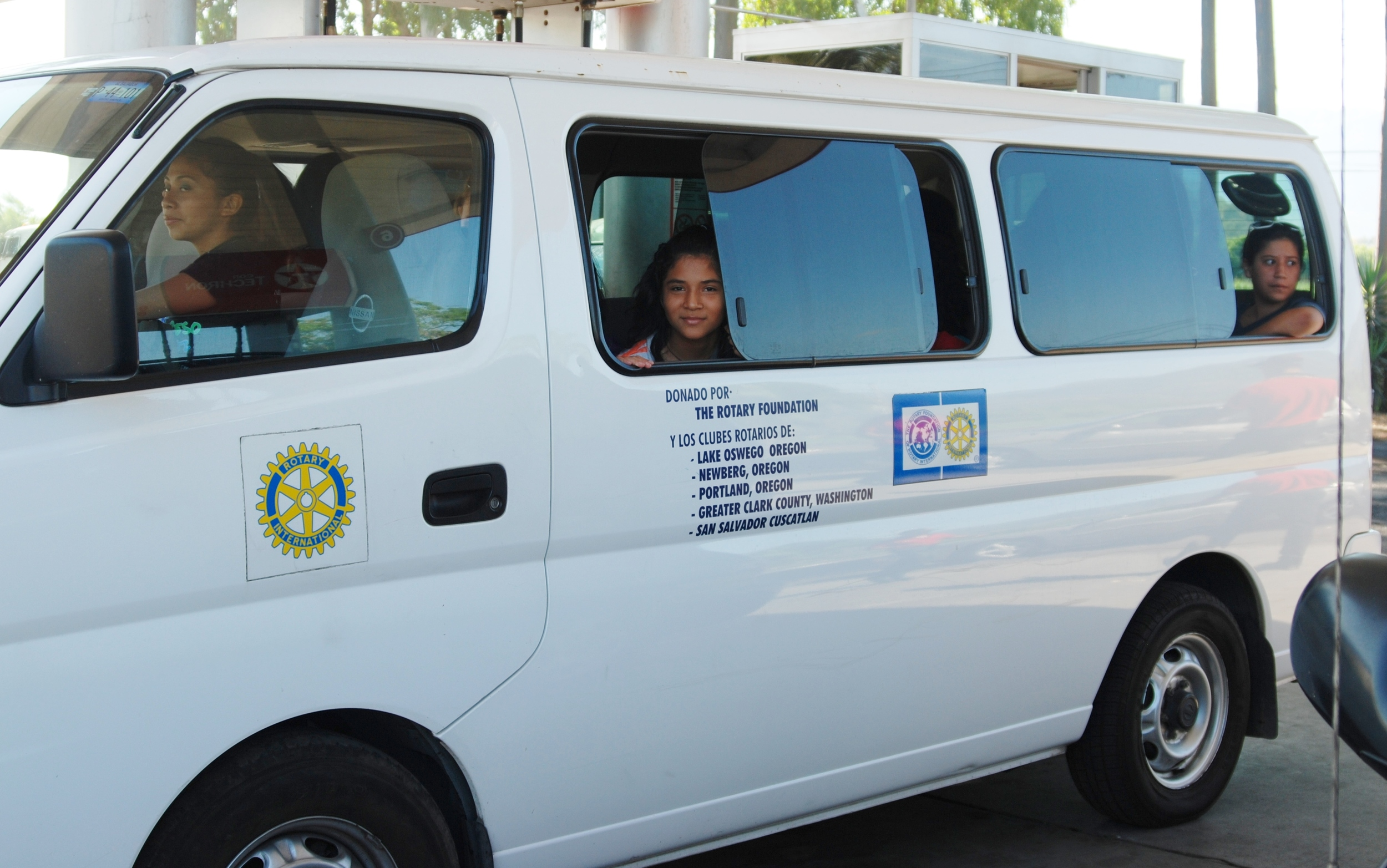 Our 15 Passenger Nissan Urvan has served us faithfully over the last five years. With 29 children, we need one more.