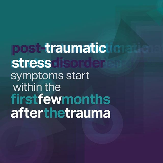 Post-traumatic stress disorder, or PTSD, is the development of some symptoms following exposure to one or more traumatic events. #MentalHealthAwarenessMonth #MentalHealthAwarenessWeek #riseabovethedisorder #youarerad #mentalhealth