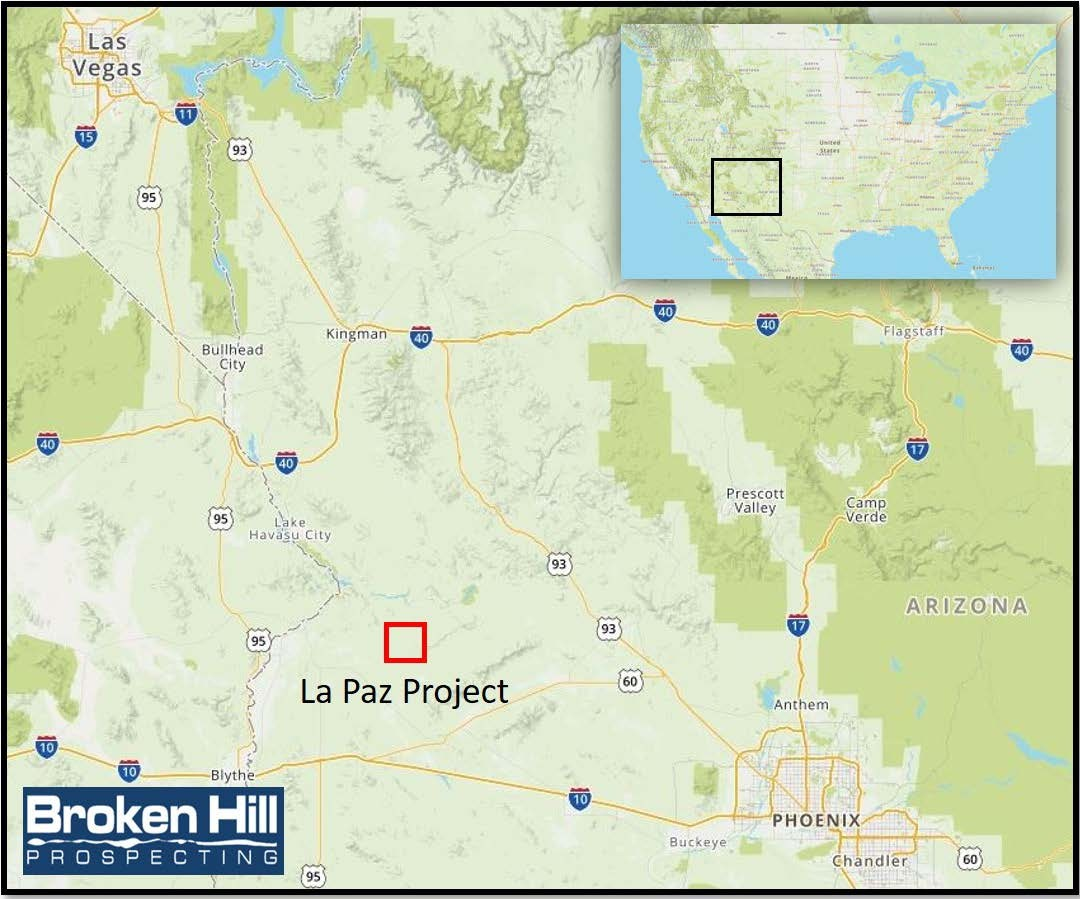 Figure 1.  La Paz Project - Arizona - USA