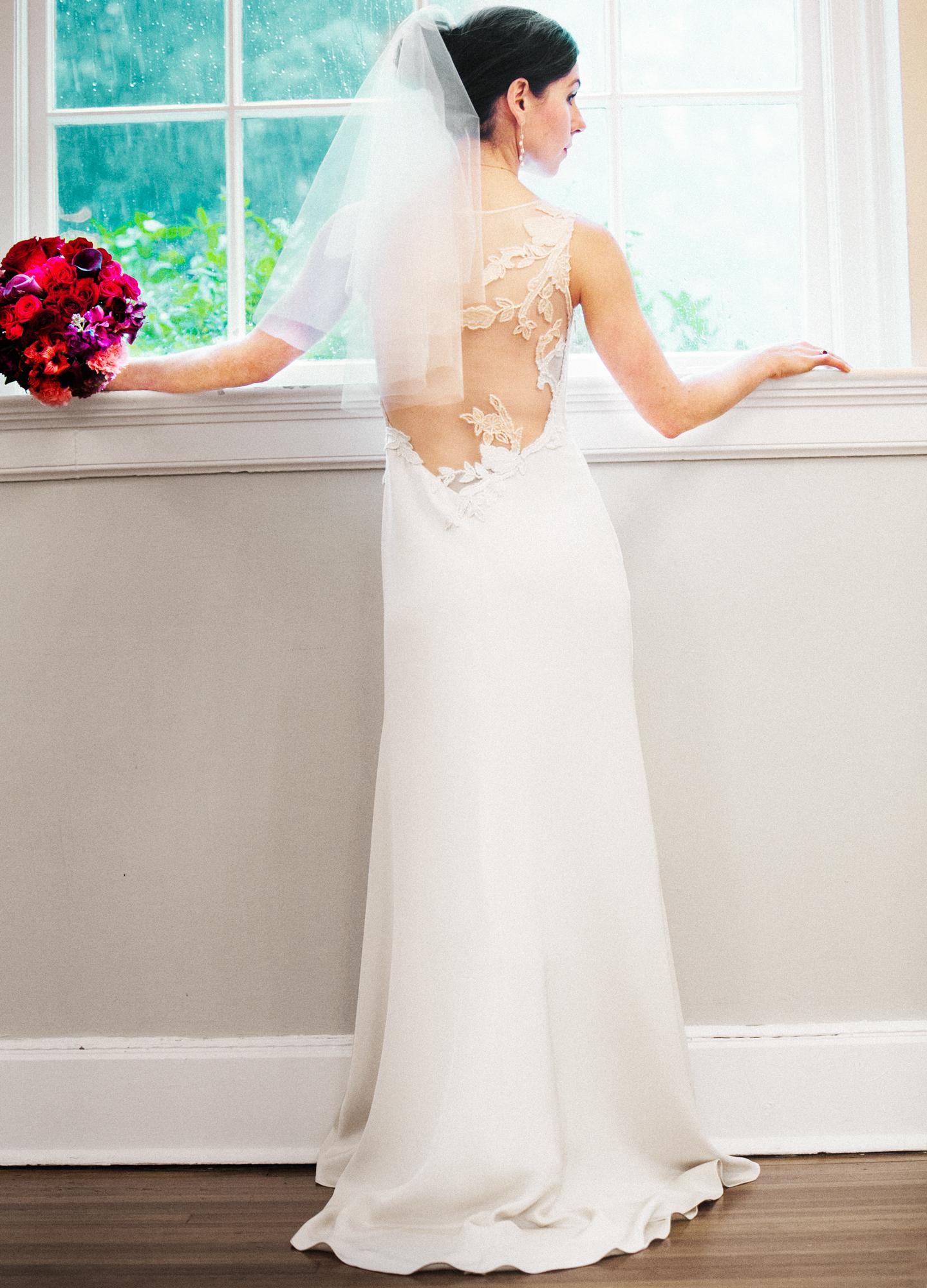 Rebecca  Hyacinth gown I Greensboro, CT I 2013