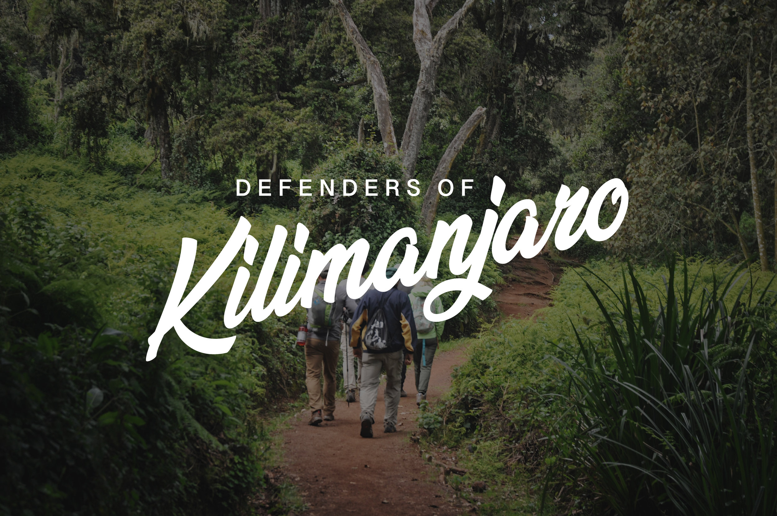 Mt. Kilimanjaro's ice cap is a matter of survival for the villages that live below.